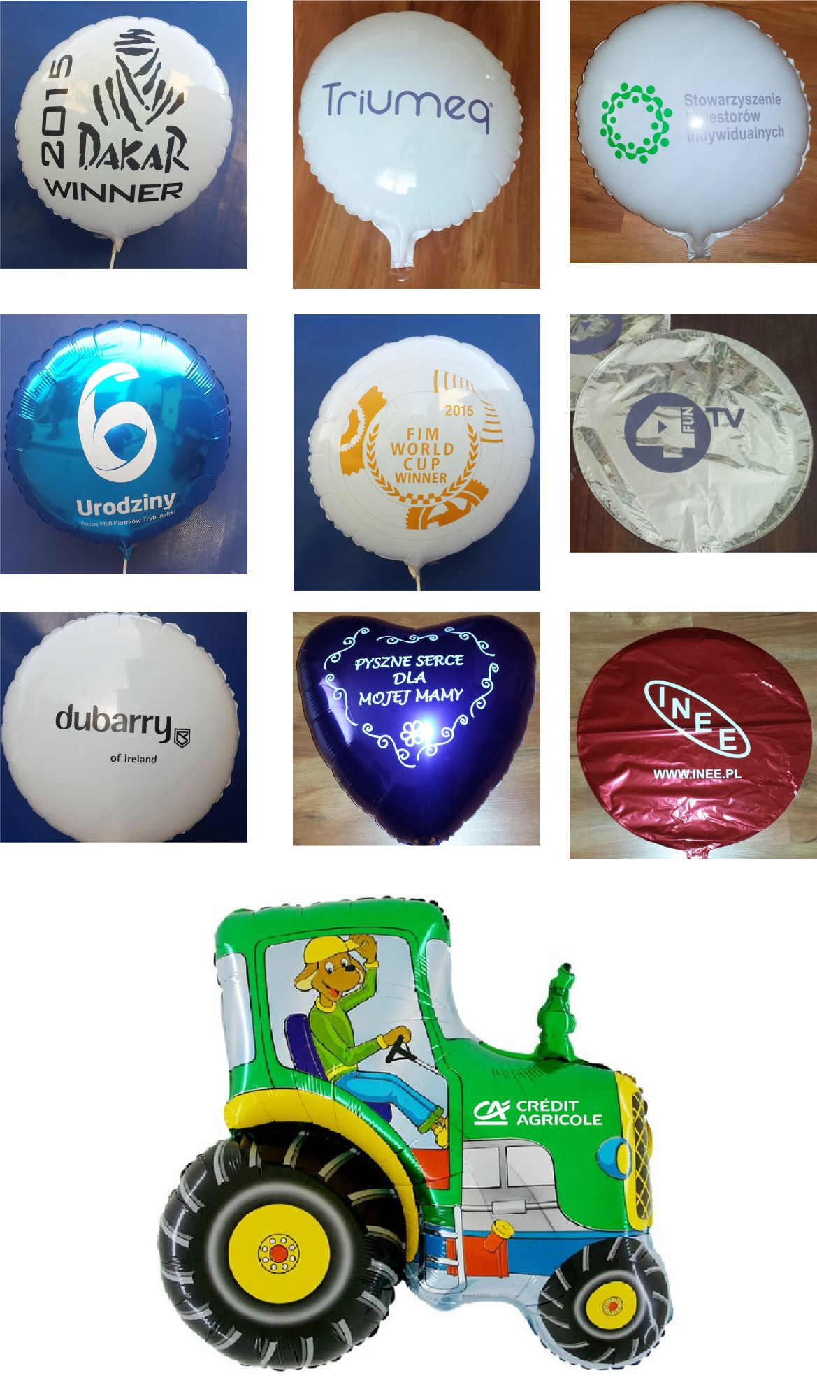 balon foliowy nadruk sklep online balon foliowy z nadrukiem sklep